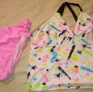 Womens 2pc swimsuit size 1x